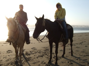 Tom & Alex - Oregon Coast 2006