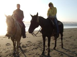 Tom & Alex - Oregon Coast 2006