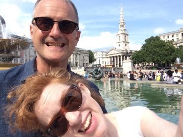 Trafalgar Square!